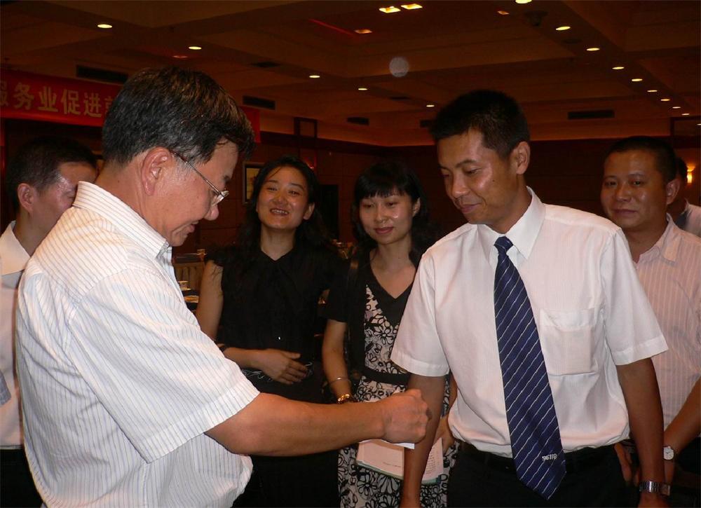 国家商务部姜增伟副部长调研成都家政服务业